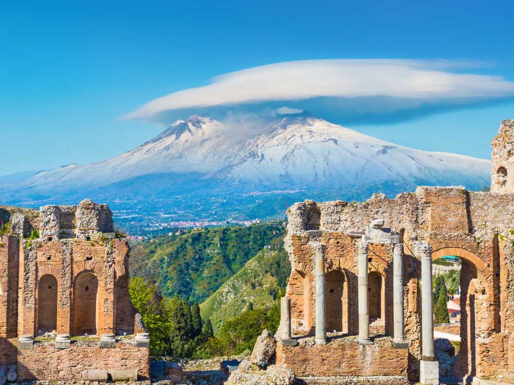vulkanen van Sicilie