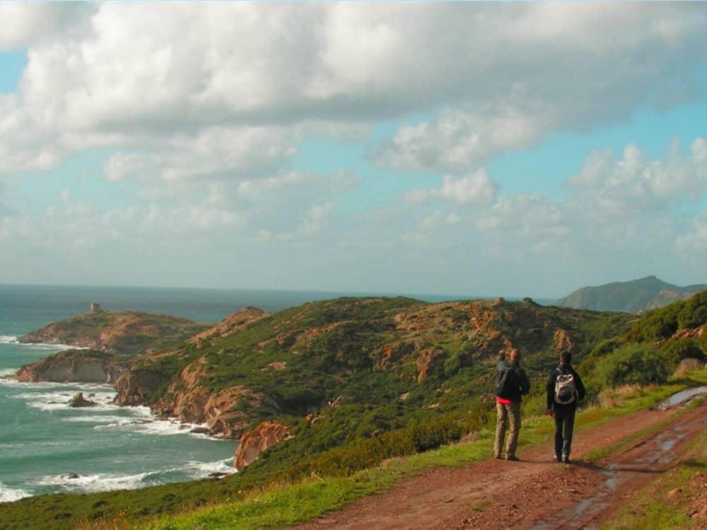 Camminare nella splendida penisola del Sinis