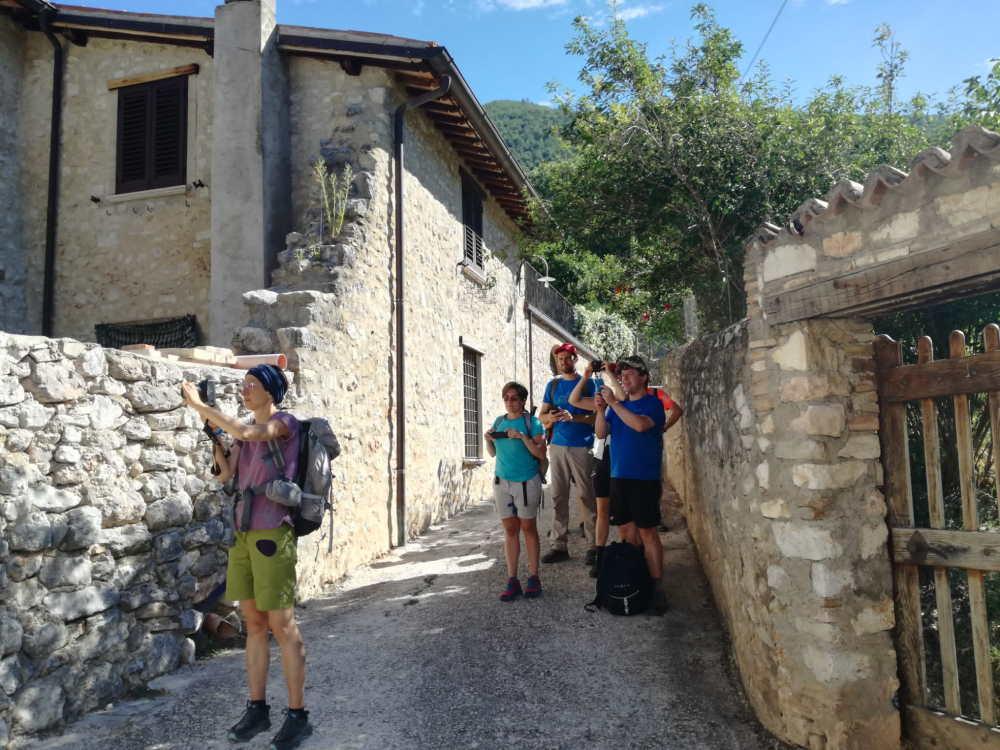 wandelen in Umbrië